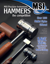 Hammers and Mallets Surgical and Medical Instruments