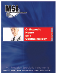 Orthopedic Neuro ENT Ophthalmology Surgical and Medical Instruments