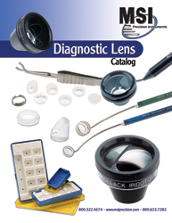 Ocular Diagnostic Lens Surgical and Medical Instruments