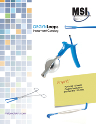 OBGYN Leeps Instruments by MSI Precision