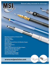 Diamond Knife Knives Surgical and Medical Instruments