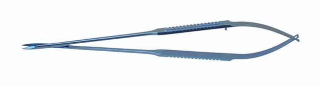 Titanium Jacobson Microsurgical Spring Handled Scissors